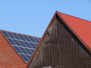 Photovoltaïque sur grange
