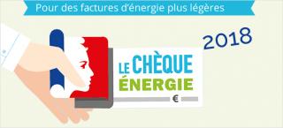 chèque énergie, factures d'énergie plus légères