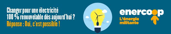 Electricité 100% renouvelable