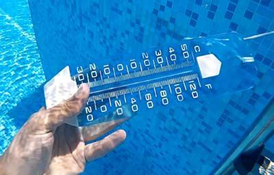 chauffage piscine et température