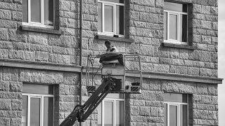 Rénovation énergétique : travaux en hauteur