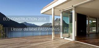 Essor du label PassivHaus et de l'éco-construction en France en 2019