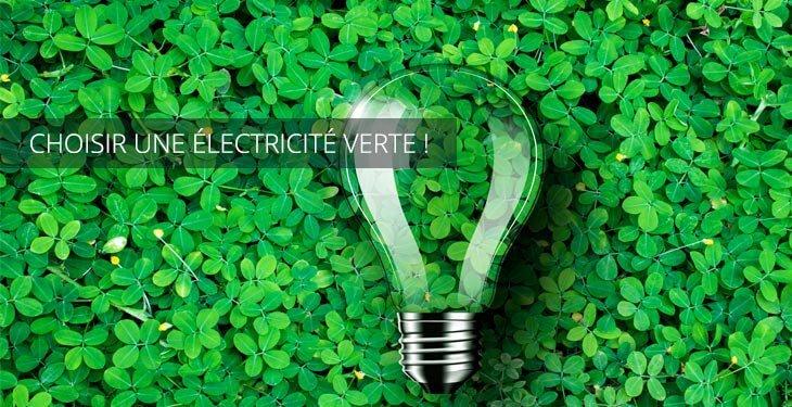 Choisir une électricité verte
