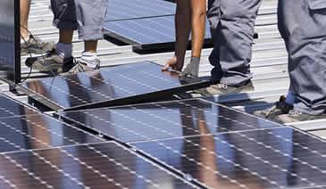 Pose kit d'autoconsommation photovoltaïque