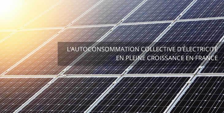autoconsommation collective d'électricité