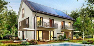 Panneau sur logement pour autoconsommation photovoltaique
