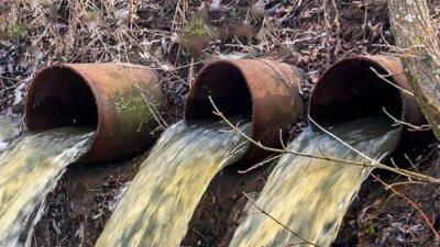 Pollution eaux usées