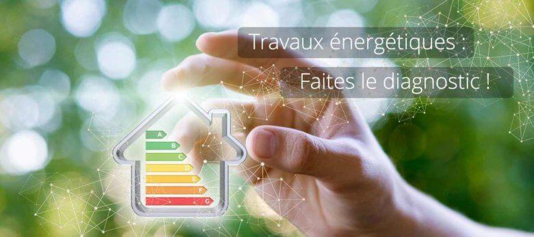 Diagnostic de performance énergétique pour travaux énergétiques