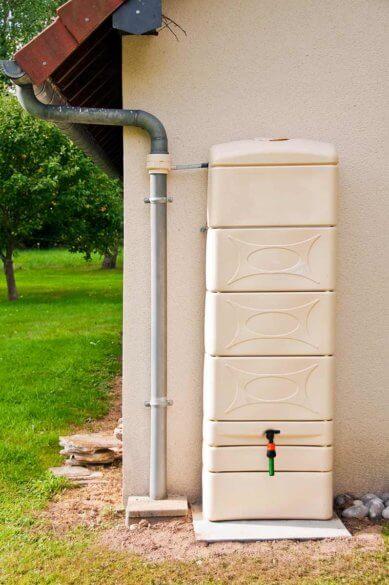 Modèles de récupérateur d'eau de pluie