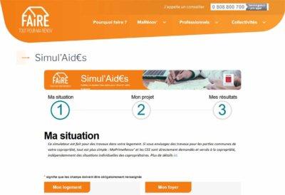Simulateur d'aide : SimulAid€s
