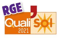 Qualification RGE Qualisol 2021